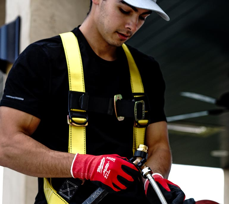 Photo of a Cleaner Man