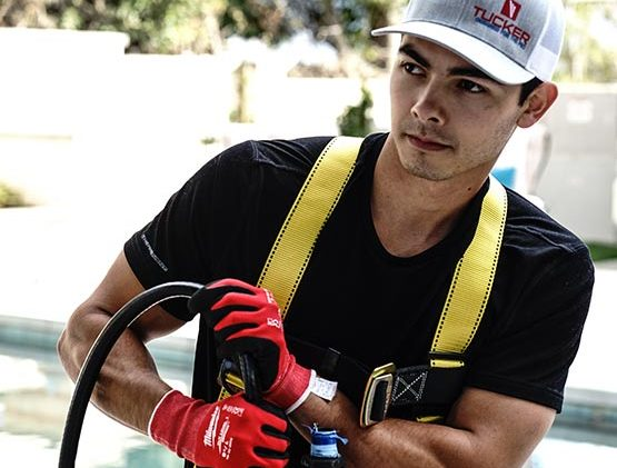 Photo of a Cleaning Person